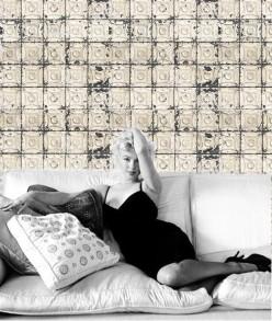Marilyn Monroe, Brooklyn tins wallpaper, Bodie & Fou, Merci, Cecil Beaton