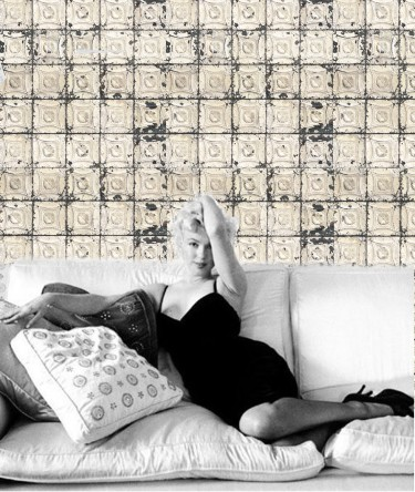 Marilyn Monroe, Brooklyn tins wallpaper, Bodie & Fou, Merci, Cecil Beaton