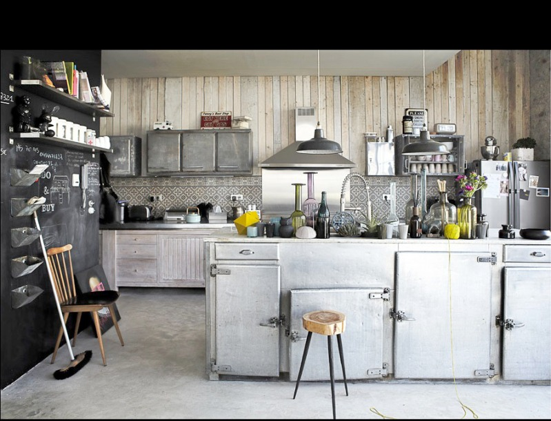 Pascal Francois, Lille, Industrial luxe, Elle Decoration