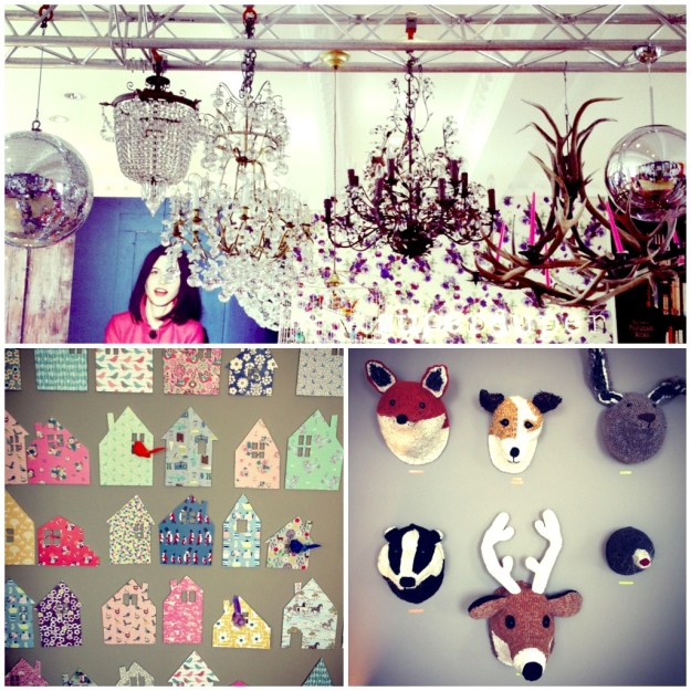Boden Autumn Winter 2013, Chandeliers, styling