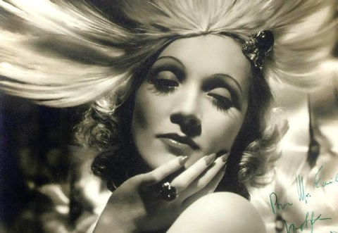 Weimar style ... Marlene Dietrich photography by George Hurrell in 1931.