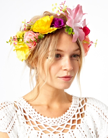 Flower garland, Asos