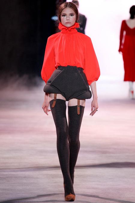 Ulyana Sergeenko SW'13 Couture