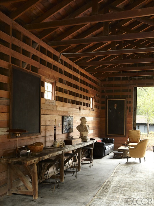 ellen degeneres portia de rossi elle decor ranch style - Ranch Style Decor
