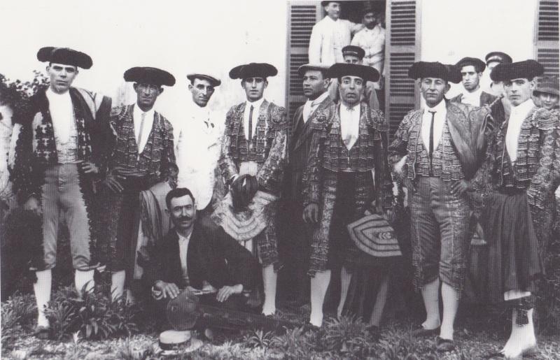 Toreros, Alcudia 1898