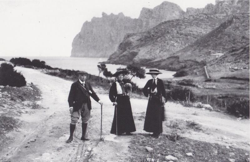 Cala Sant Vicenc, 1898