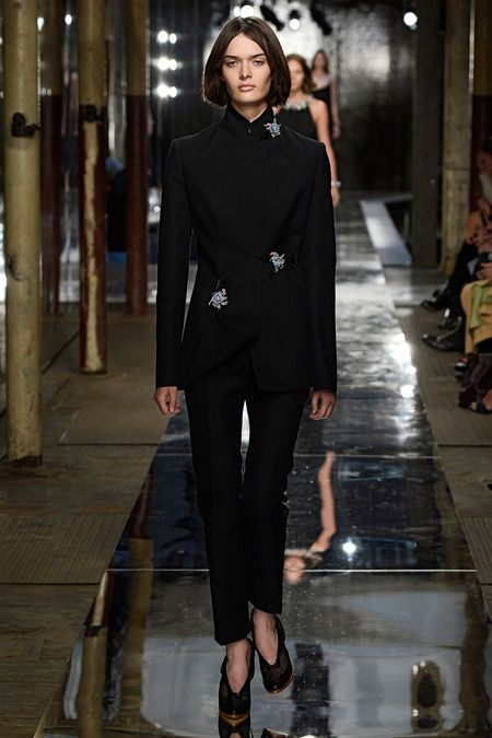 Christopher Kane, Tuxedo, London Fashion Week SS14
