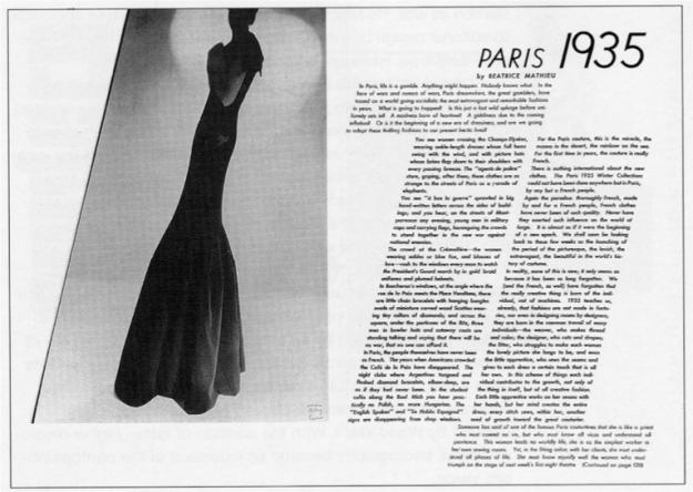 Alexey Brodovitch, Harpers Bazaar Espana