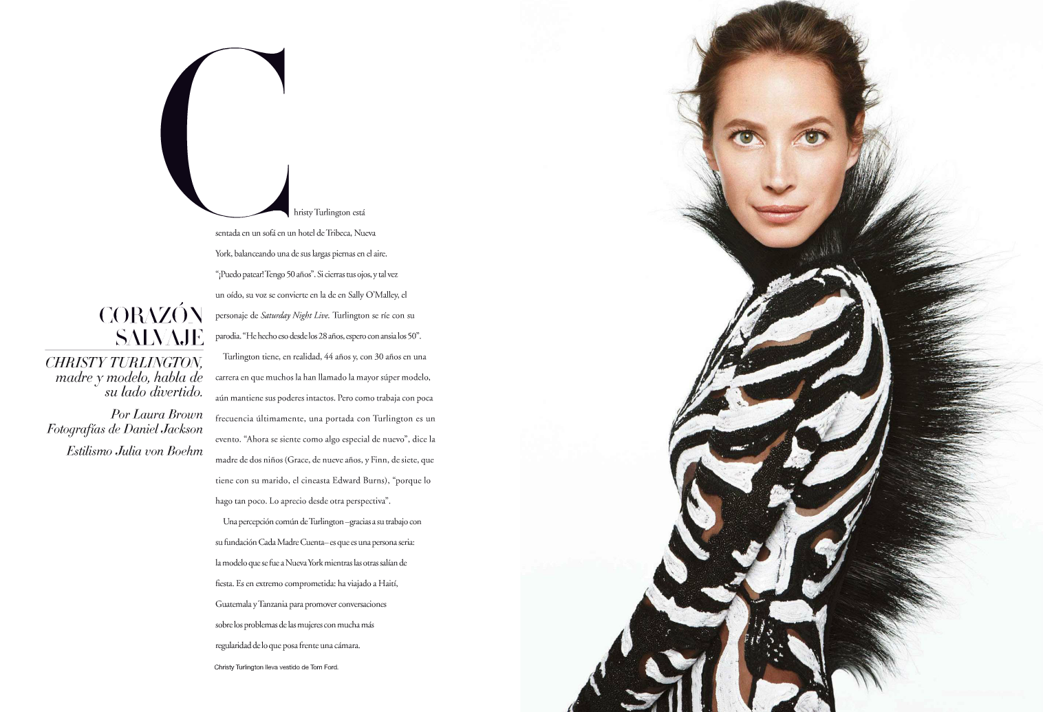 Fashion Magazine Editorial Example