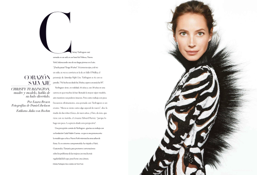 Christy Turlington, Harpers Bazaar Espana