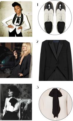 Tuxedo dressing