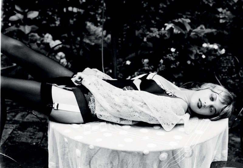 ellen Von Unwerth, Alfred Cheney Johnston, Grey Magazine, Camille Rowe