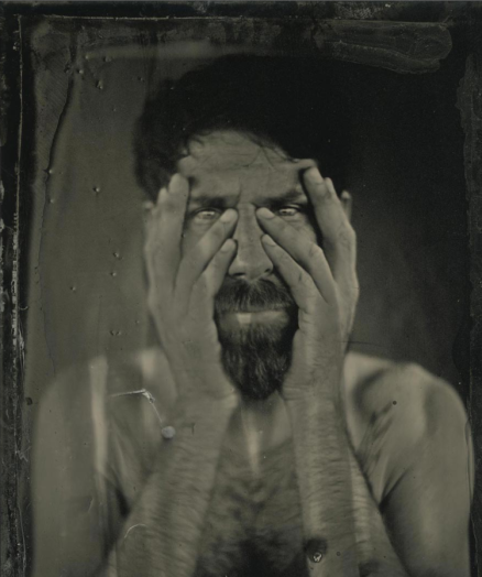 Angela and Ithyle, Collodian photography