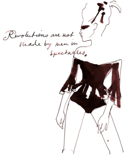 Sara Singh, H&M, Fashion Illustration