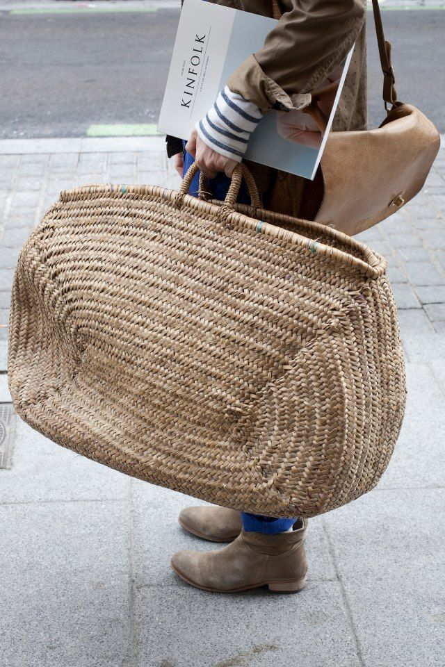 Kinfolk, wicker bag