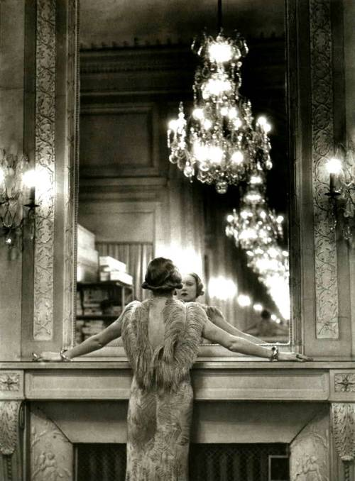 vintage feathers and chandelier