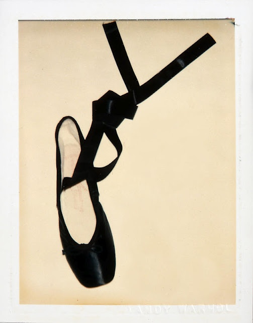 Andy Warhol ballet shoes