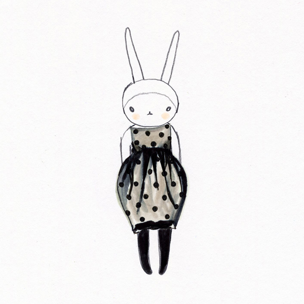 Fifi Lapin, fashion illustration