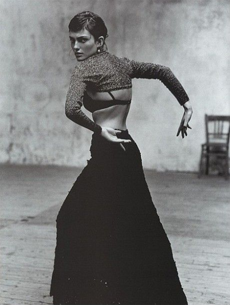 Laura Ponte, Flamenco, Vogue Espana 1998