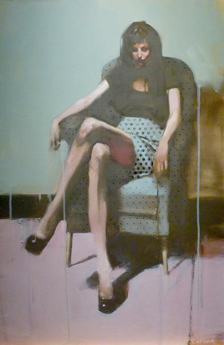 Michael Carson, paintings, art