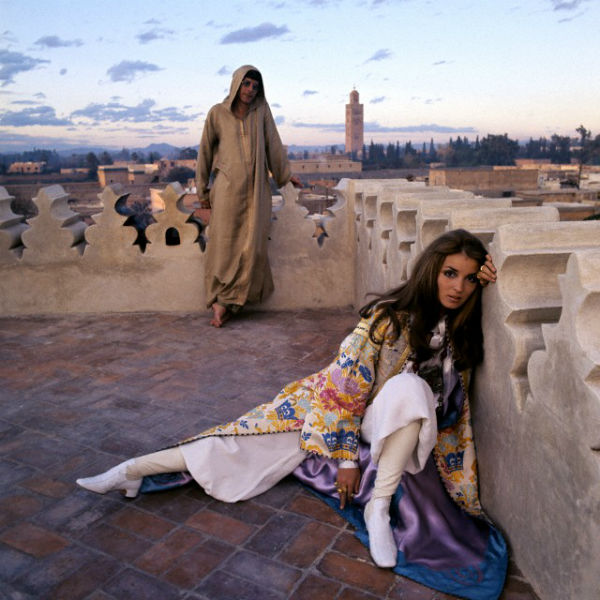 Talitha Getty, Angela Lindvall, Porter Magazine
