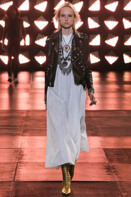 Saint Laurent spring menswear 2014, Hedi Slimane, boho style, boho boys