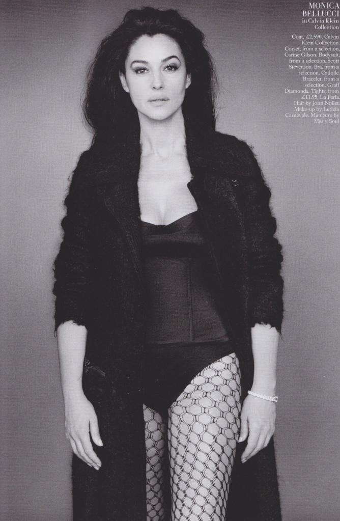 Monica Belluci, Harpers Bazaar Uk Sept2014