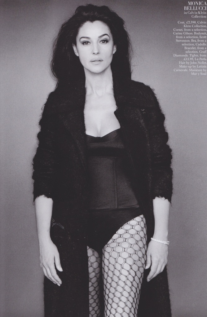 Monica Belluci, Harpers Bazaar Uk Sept2014