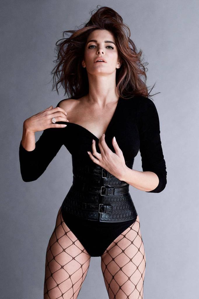 Stephanie Seymour, Harpers Bazaar UK Sept 2014