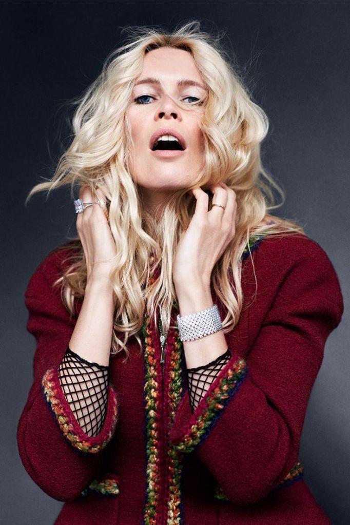 Claudia Schiffer, Harpers Bazaar Uk Sept 2014