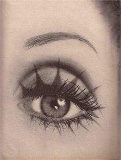 Biba Eyes, makeup