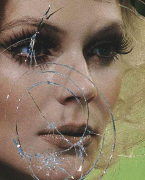 Reflection, mirror, Vogue Italia March 2013, Miles Aldridge