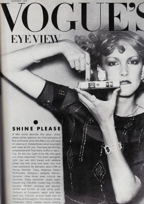 Vogue October 1974